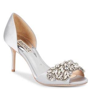 Hansen Crystal Embellished Sandal SILVER wedding